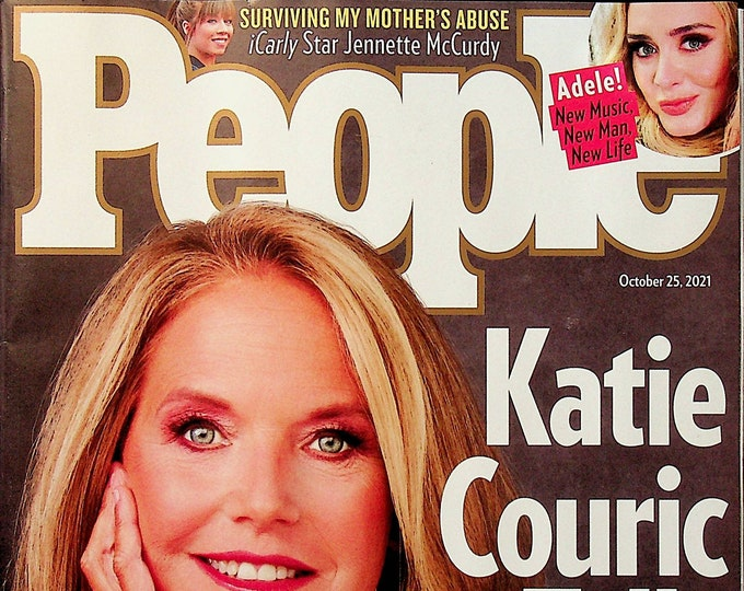 People October 25, 2021 Katie Couric Tell All,  Adele  (Magazine: Celebrity, General Interest)