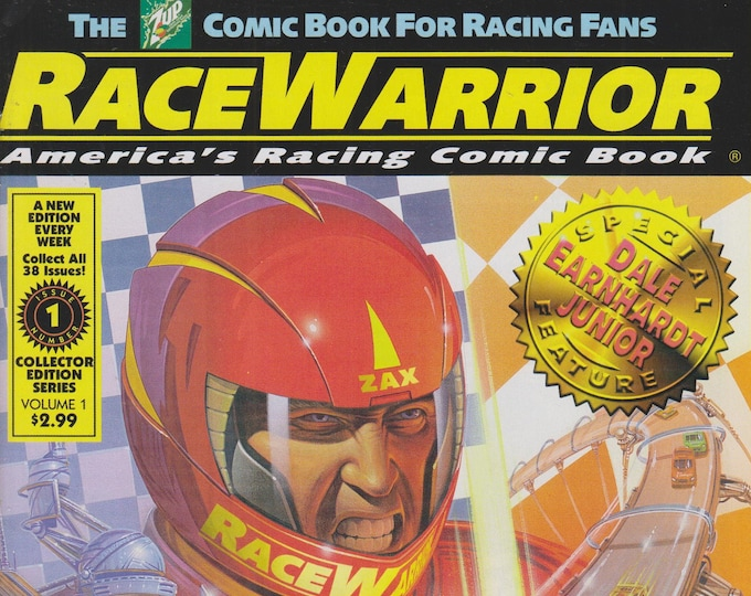 The 7Up Comic Book - Race Warrior Vol. 1 No. 1 Special Feature Dale Earnhardt Junior  (Comic Book: Race Warrior) 2000