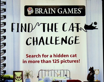 Brain Games Find the Cat Challenge (Spiral Bound: Activity Book, Puzzles, Picture  Puzzles) 2020