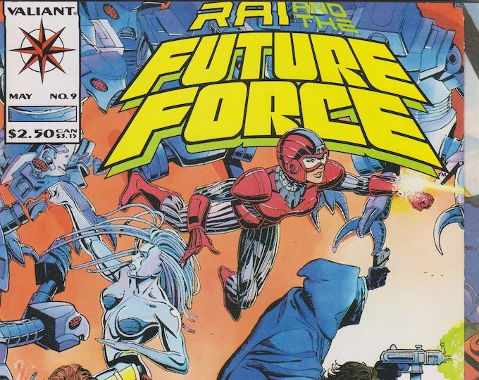 Valiant No. 9 Rai and the Future Force (Comic: Rai and the Future Force)  1993
