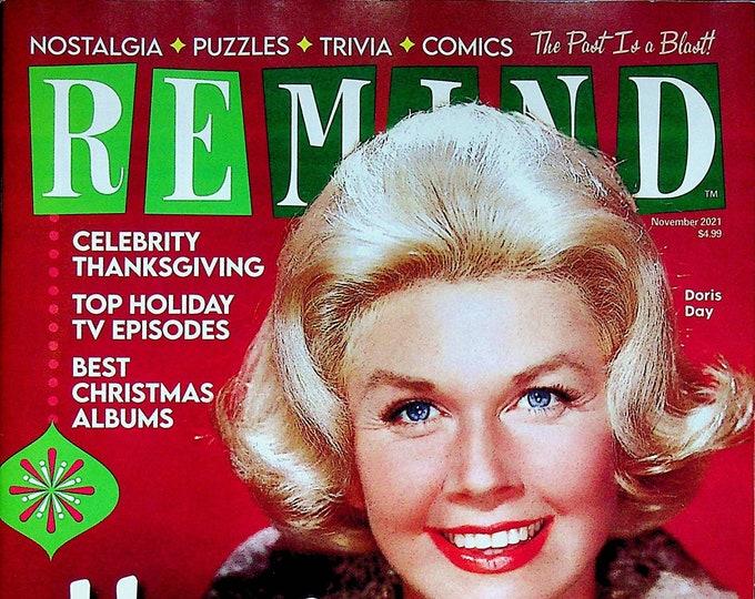 ReMIND November 2021 Doris Day Home for the Holidays (Magazine: Nostalgia, Puzzles, Celebrities)