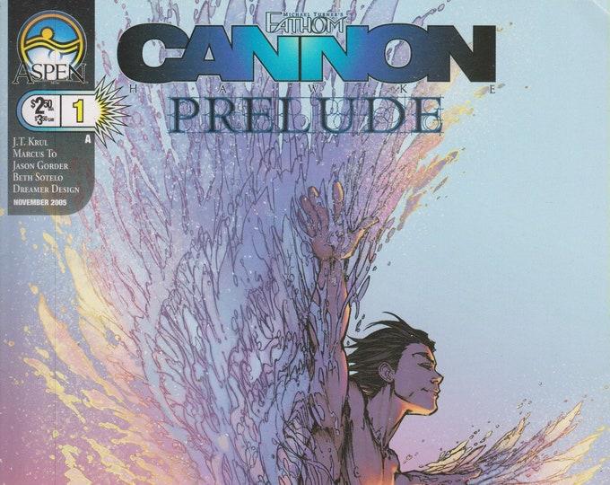 Aspen #1 Fathom Cannon Prelude Cover A November 2005  (Comic: Fathom)