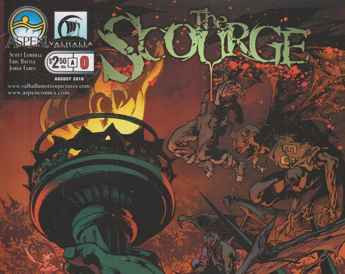 Aspen Valhalla  #0  The Scourge  Cover A August 2010    (Comic:The Scourge)