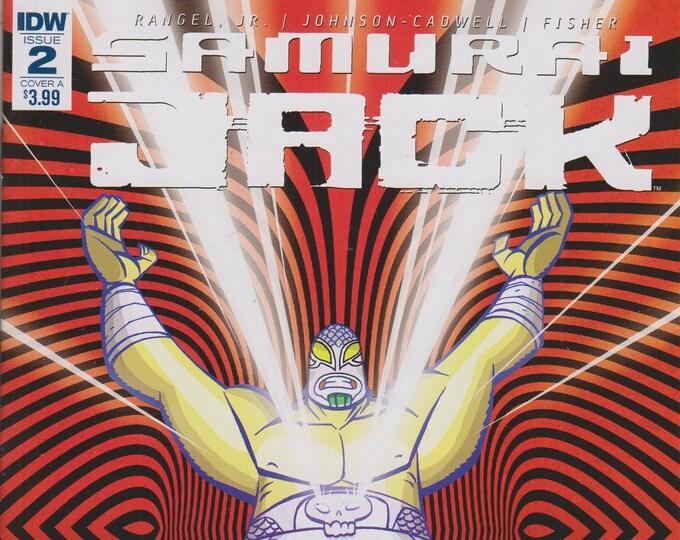IDW Issue 2 Cover A Samurai Jack - Quantum Jack [adult swim] (Comic: Samurai Jack) 2017
