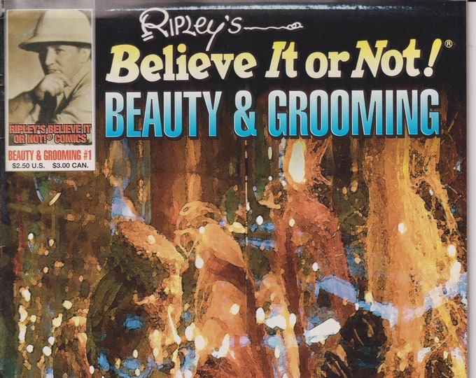 Ripley's Believe It Or Not Beauty & Grooming  #1 1993 (Comic: Facts, Nonfiction)