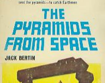 The Pyramids From Space by Jack Bertin (Vintage Paperback: Science Fiction, Fantasy) 1970