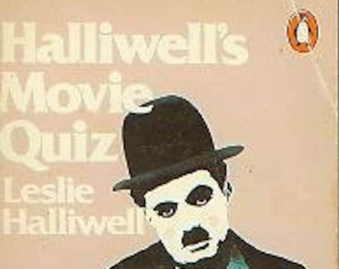 Halliwell's Movie Quiz by Leslie Halliwell (Paperback, Puzzles, Movies)  1977