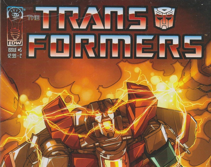 IDW May 2006  Issue 5 Transformers Infiltration First Printing (Comic: Transformers)