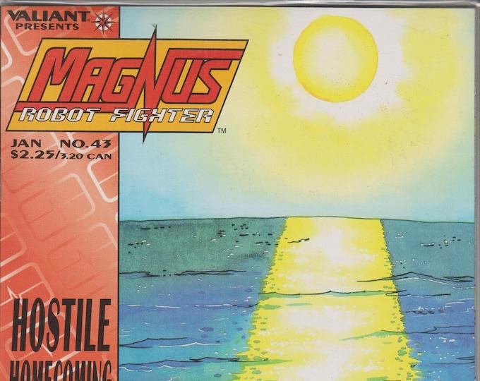 Valiant No. 43  MagNus Robot Fighter Hostile Homecoming  (Comic: MagNus)  1995