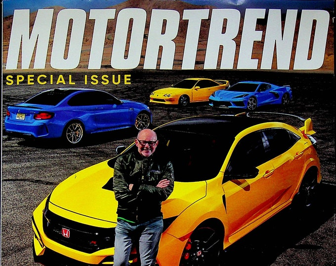 Motor Trend July 2021 Top Gear America Rob Corddry Takes The Wheel (Magazine: Automotive, Cars)