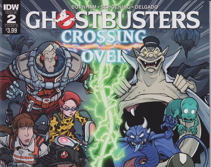 IDW Issue 2 Cover B Ghostbusters Crossing Over April 2018 First Printing (Comic)