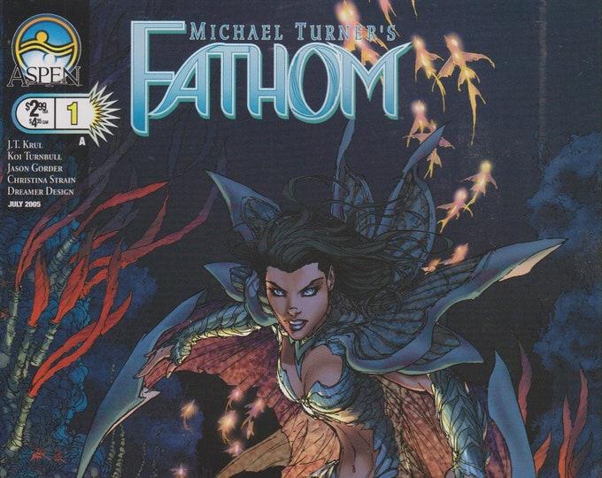 Aspen  #1 Michael Turner's Fathom  Cover A July 2005 (Comic: Fathom)  2005