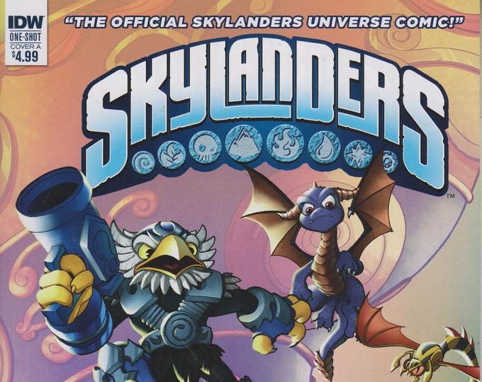 IDW One-Shot Cover A Skylanders Spyro & Friends Full Blast! (Comic: Skylanders) 2017