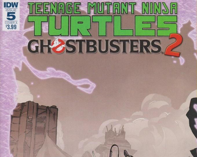 IDW November 2017  Issue 5 Cover A Teenage Mutant Ninja Turtles Ghostbusters 2 (Comic: Teenage Mutant Ninja Turtles)