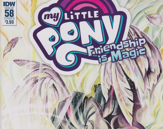 IDW September 2017 Issue 58 Cover B My Little Pony Friendship is Magic  (Comic:  My Little Pony)
