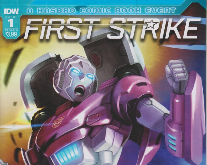 IDW #1 October 2017  Cover A Transformers First Strike  (Comic: Transformers)