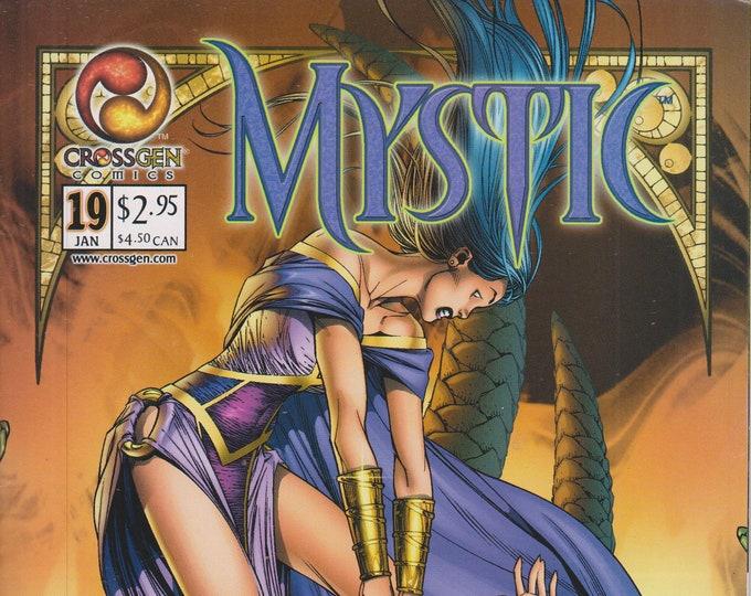 Crossgen Comics January 2002 Mystic Vol. 1 Issue 19  First Printing  (Comic: Mystic)