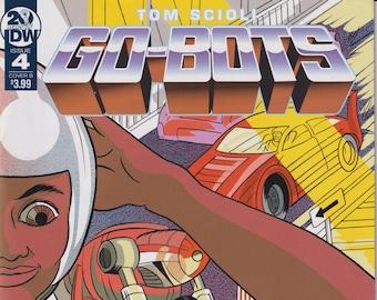 IDW Issue 4 Cover B  February 2019 Tom Scioli Go-Bots First Printing (Comics: Go-Bots)