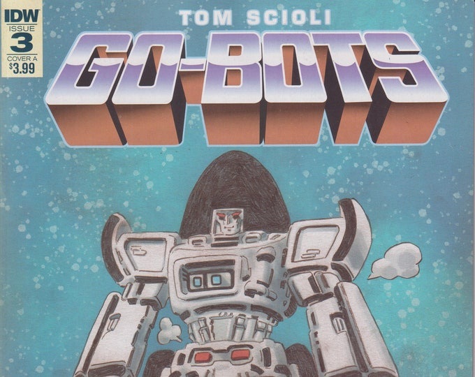 IDW Issue 3 Cover A Tom Scioli  Go-Bots (Comics: Go-Bots)