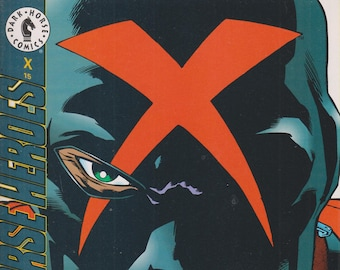 Dark Horse Comics June 1995 X #15  (Comic: X) 1995