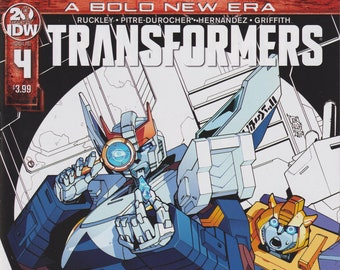IDW 4 April 2019 Transformers   (Comic: Transformers)
