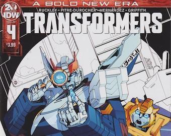 IDW 4 April 2019 Transformers   (Comic: Transformers)
