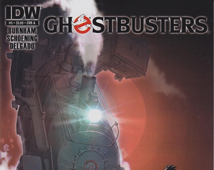 IDW Issue 5 Cover A Ghostbusters First Printing June 2013 (Comic:  Ghostbusters)