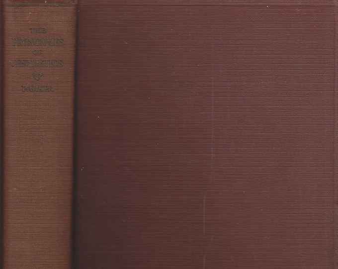 The Principles of Aesthetics by DeWitt H Parker (Hardcover, Art) (c) 1920