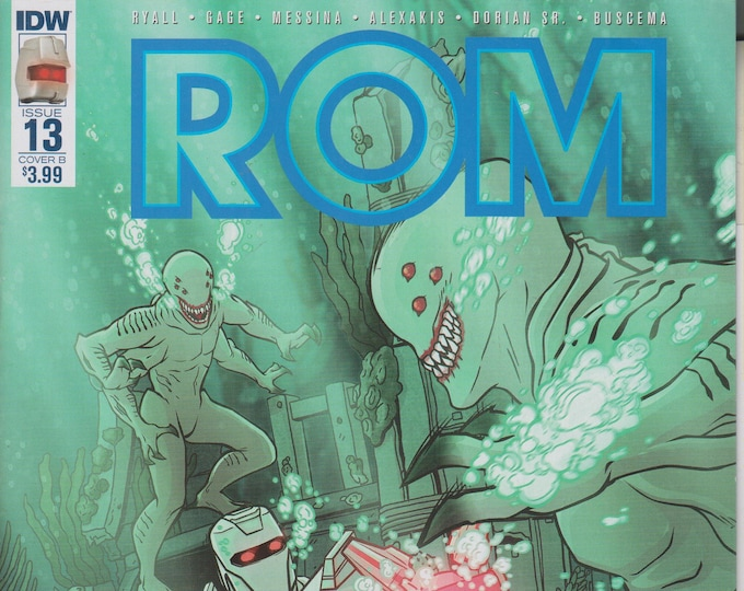 IDW Issue #13 Cover B Rom (Comic: Rom) 2017