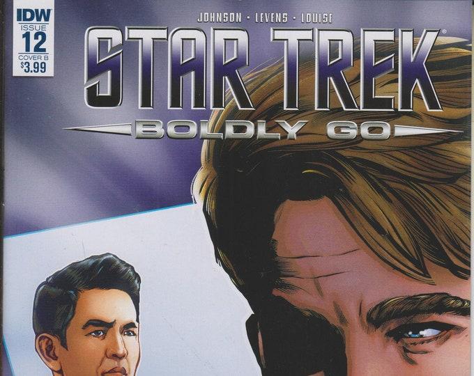 IDW Issue 12 Cover B Star Trek - Boldly Go September 2017 First Printing (Comic: Star Trek)  2017
