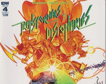 IDW 4 March 2018 Cover A  Transformers Visionaries (Comic: Transformers)