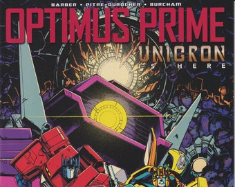 IDW 22 July 2018 Cover A Optimus Prime Unicron is Here  First Printing (Comic: Transformers)