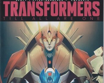 IDW 9 April  2017 Regular Cover Transformers Till All Are One  (Comic: Transformers)