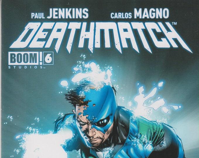 Boom! Studios #6 Deathmatch  (Comic: Deathmatch) 2013