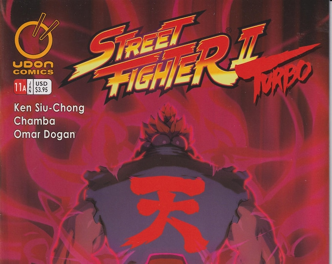 Udon 11 January 2010 Cover A Street Fighter II Turbo First Printing (Comic: Street Frighter II))