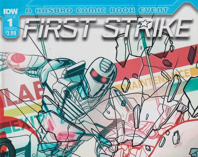IDW Issue 1 Cover B First Strike Rom  First Printing (Comic: First Strike, ROM )