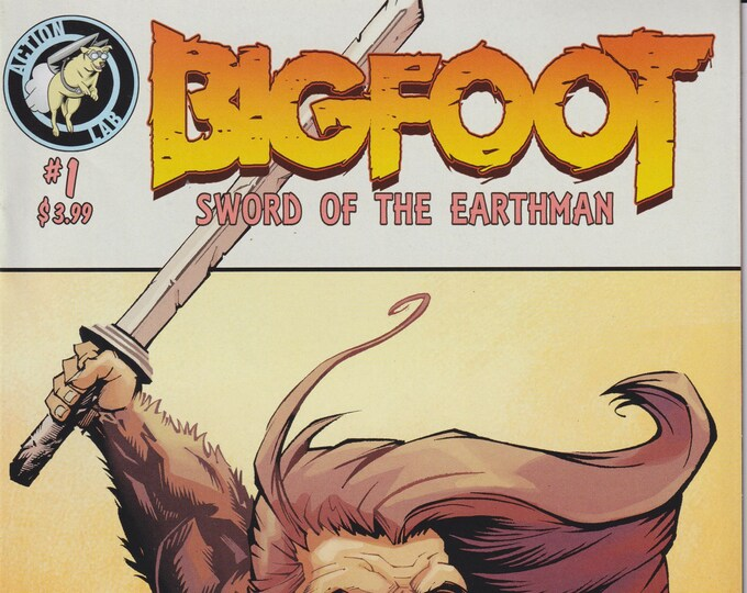 Action Lab #1 December 2015 Bigfoot - Sword of the Earthman   (Comic: Big Foot)
