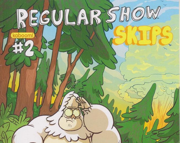 KaBoom #2 Regular Show Skips Cover A (Comic: Regular Show Skips) 2013