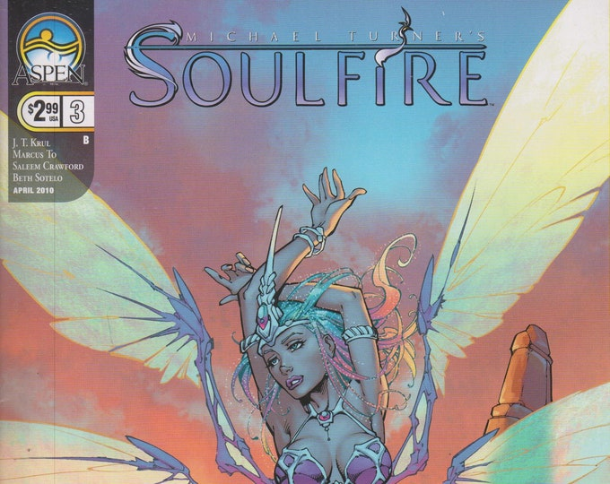 Aspen #3 Michael Turner's Soulfire April 2010 Cover B  (Comic: Soulfire) 2010