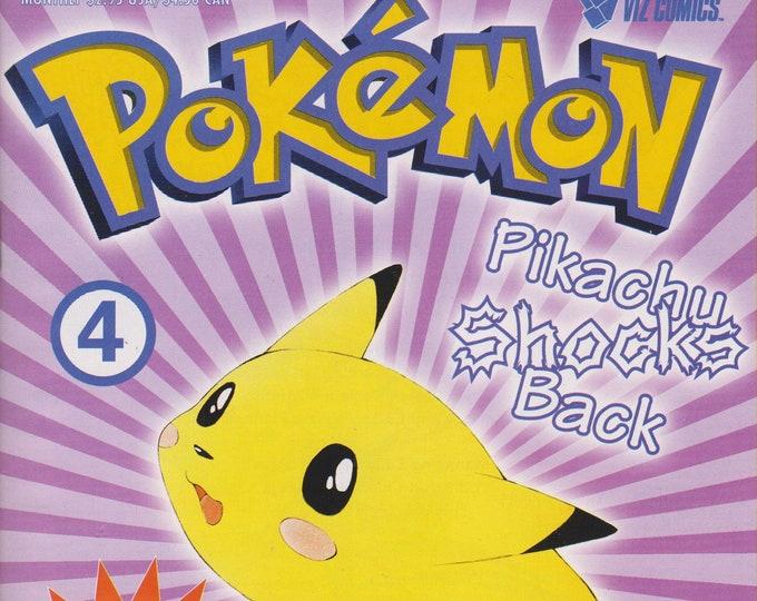 Pokemon #4 Pikachu Shocks Back (Comic Book: Pokemon) 1999