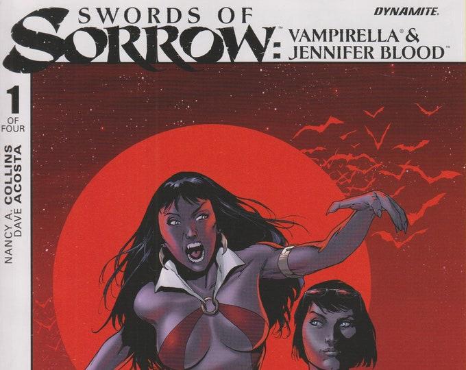 Dynamite 1 of Four Swords of Sorrow Vampirella/Jennifer Blood  (Comic: Vampirella)  2015