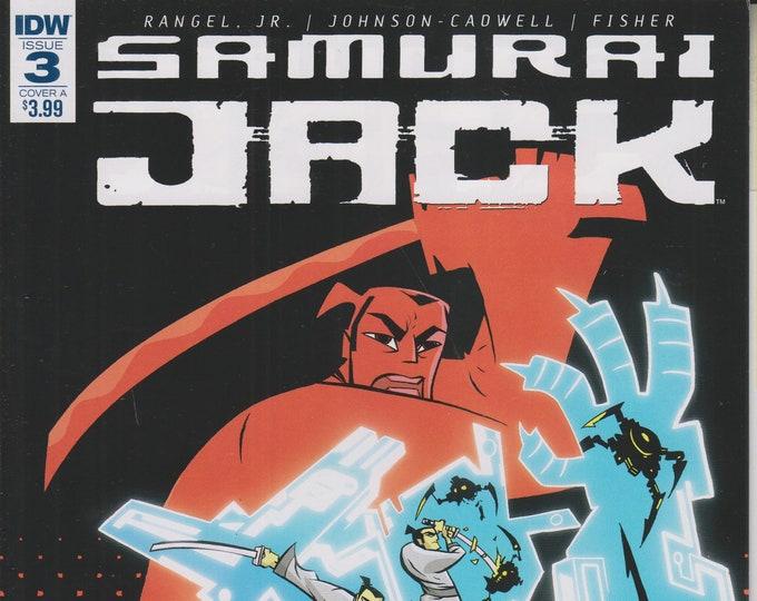 IDW November 2017 Samurai Jack - Quantum Jack #3 Cover A  [adult swim] (Comic: Samurai Jack) 2017