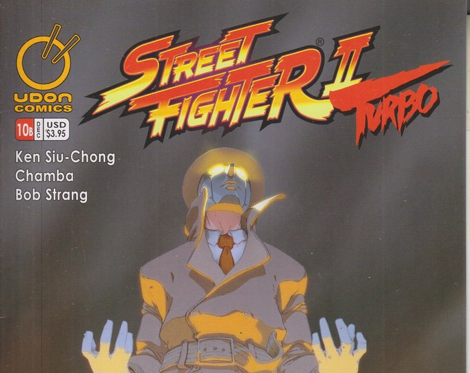 Udon Comics #10 Cover B Street Fighter II Turbo December 2009 (Comic: Street Fighter)