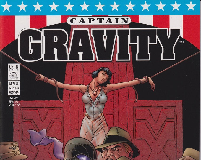Penny Farthing #4 March 1999  Captain Gravity (Comic: Captain Gravity)