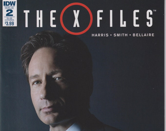 IDW Issue 2 Sub Cover The X Files  May 2016 First Printing  (Comic)