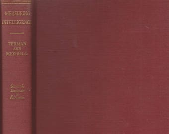 Measuring Intelligence: (Riverside Textbooks in Education) (Hardcover, Teaching, Education,  Psychology) 1937