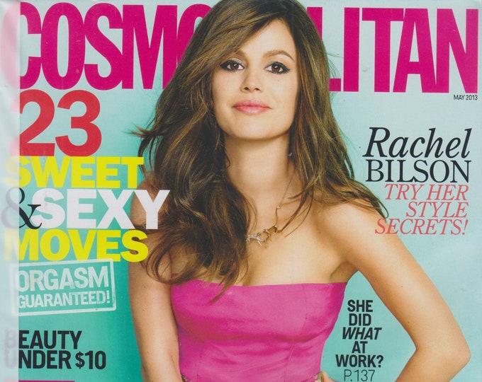 Cosmopolitan May 2013 Fresh Flirty Fun -  Rachel Bilson Try Her Style Secrets  (Magazine: Women's)