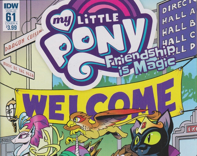 IDW Issue 61 Cover A My Little Pony Friendship is Magic  (Comic:  My Little Pony) 2017