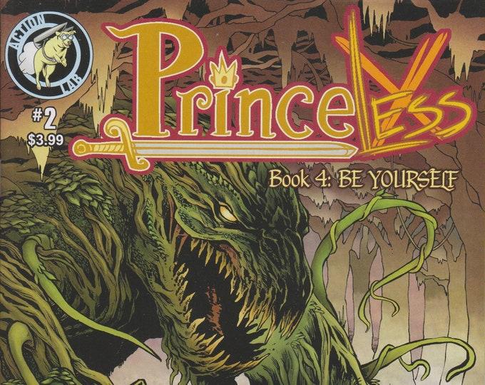 Action Lab #2  Princeless Book 4 Be Yourself  (Comic: Princeless) 2015