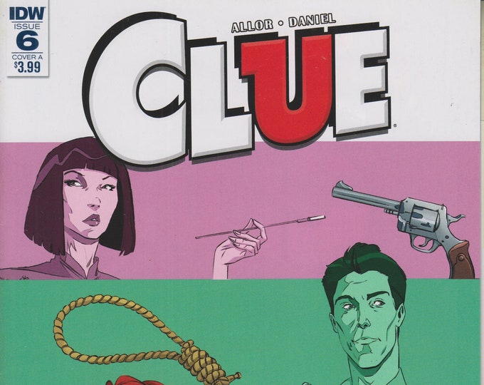 IDW November 2017  Issue 6 Cover A Clue  (Comic: Clue)